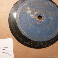 Discos de pizarra: DISCO DE PIZARRA . Lote 55228589