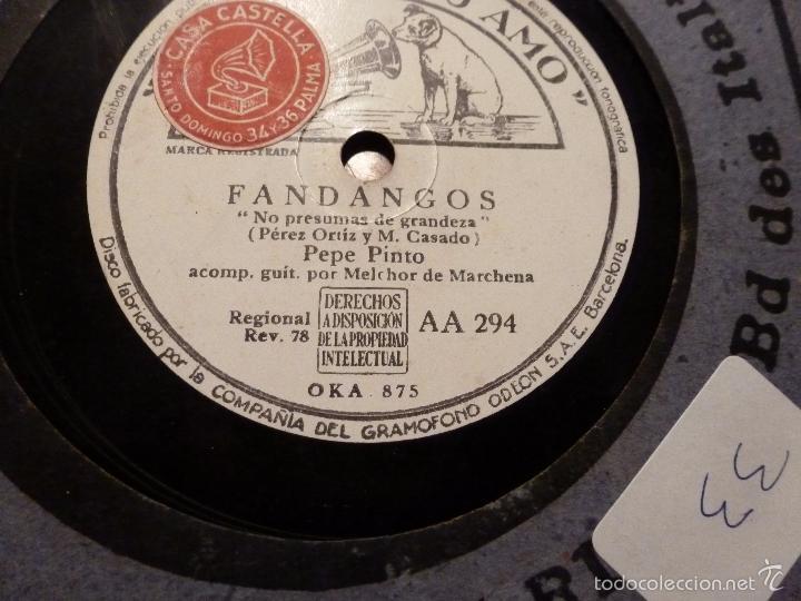 DISCO DE PIZARRA (Música - Discos - Pizarra - Otros estilos)