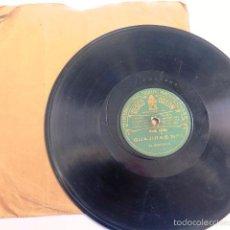 Discos de pizarra: DISCO PIZARRA. GUAJIRAS Y TANGO. EL MOCHUELO. Lote 55306331