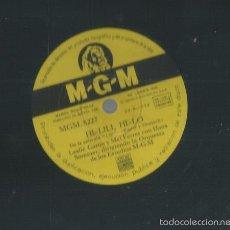Discos de pizarra: DISCO PIZARRA DE LESLIE CARON & MEL FERRER (HI- LILI, HI-LO) + HANS SOMMER (ADORATION ). Lote 55363546