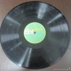 Discos de pizarra: DISCO DE PIZARRA. COLUMBIA. MI CABALLO - NO SE PORQUE TE HAS CREIO - YO QUE POR TI HE PELEAO. Lote 55646517