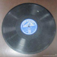 Discos de pizarra: DISCO DE PIZARRA. LA VOZ DE SU AMO. JUDAS - COPLAS DE PERRO ROMERO. Lote 55672062