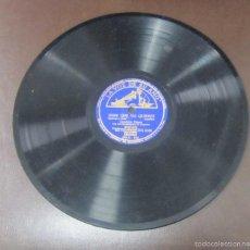 Discos de pizarra: DISCO DE PIZARRA. LA VOZ DE SU AMO. DIME QUE ME QUIERES - ALMUDENA. Lote 55674499