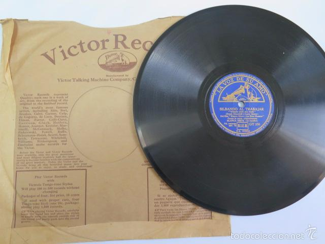 Discos de pizarra: Disco de pizarra de la película Blancanieves. La voz de su amo. - Foto 4 - 55700076