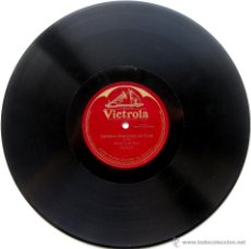 Discos de pizarra: BERNARDO DE MURO (TENOR) - CARMEN, ROMANZA DEL FIORE (BIZET) - VICTROLA 191? 78RPM 12 PULGADAS BPY. Lote 55787974