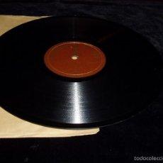Discos de pizarra: DISCO PIZARRA CURIOSIDAD. Lote 55826493