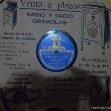 Discos de pizarra: EL DESFILE DEL AMOR. LOS BOLIVIOS Y ORQUESTA ODEON. PIZARRA. ODEON. Lote 55933750