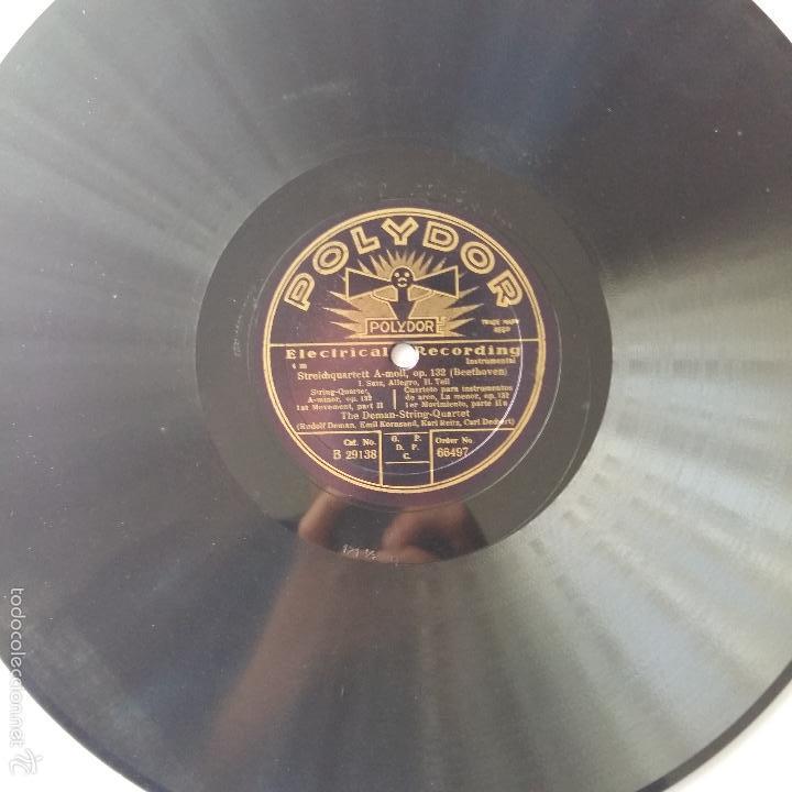 ANTIGUO DISCO DE PIZARRA POLYDOR. ELECTRICAL RECORDING (Música - Discos - Pizarra - Otros estilos)