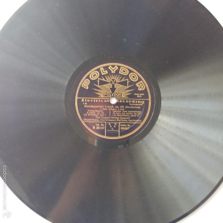 Discos de pizarra: ANTIGUO DISCO DE PIZARRA POLYDOR. ELECTRICAL RECORDING - Foto 2 - 56239676