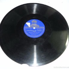 Discos de pizarra - DISCO DE PIZARRA, ORQUESTA CON PALILLOS - Fandanguillo de Almería (Gaspar Vivas) / Sevillanas de Ba - 56253109