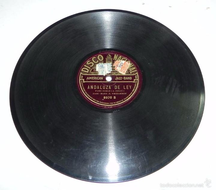 DISCO DE PIZARRA AMERICAN JAZZ-BAND, ANDALUZA DE LEY / CE N´EST PAS LA MEME CHOSE, DISCO NACIONAL, N (Música - Discos - Pizarra - Jazz, Blues, R&B, Soul y Gospel)