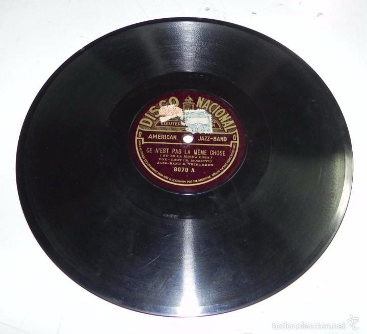 Discos de pizarra: DISCO DE PIZARRA AMERICAN JAZZ-BAND, ANDALUZA DE LEY / CE N´EST PAS LA MEME CHOSE, DISCO NACIONAL, N - Foto 3 - 56253180