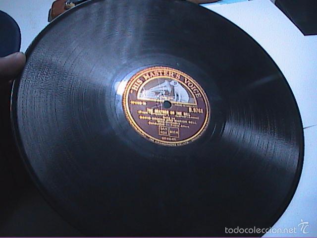 Discos de pizarra: DISCO DE PIZARRA. HIS MASTER VOICE.1930.THE HEATHER ON THE HILL-ALMOST LIKE BEING IN LOVE.BRIGADOON. - Foto 3 - 56306076