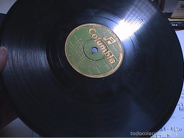 Discos de pizarra: DISCO DE PIZARRA.COLUMBIA.1942.CELIA GÁMEZ. YOLA. MIRAME Y ALAS. - Foto 3 - 56309792