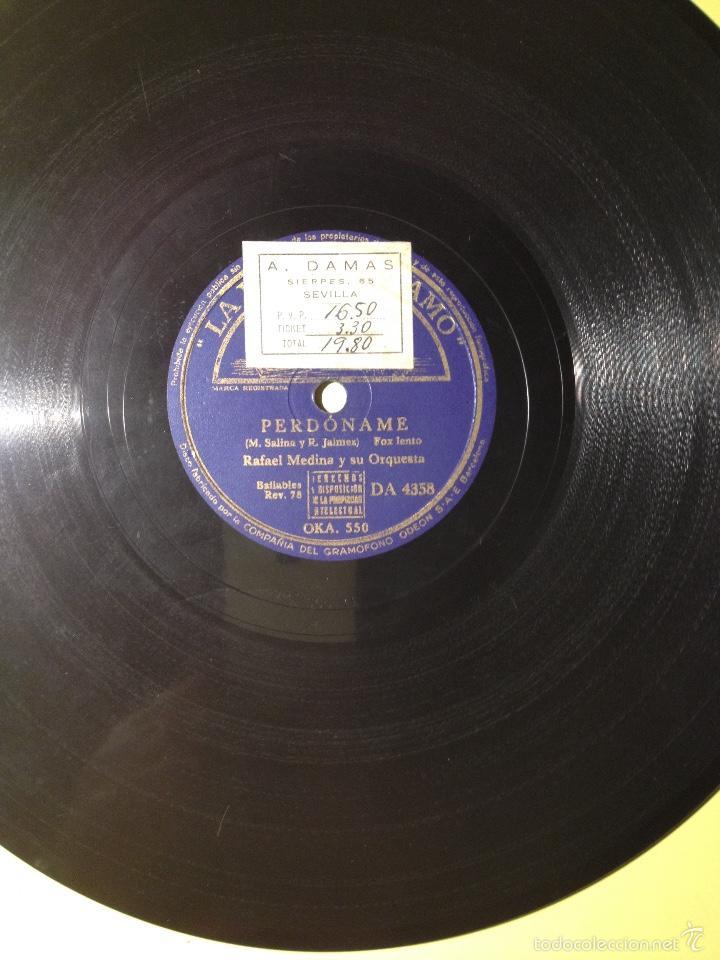RAFAEL MEDINA Y SU ORQUESTA (Música - Discos - Pizarra - Otros estilos)