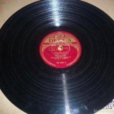Discos de pizarra: THE FOUR ACES, A GARDEN IN THE RAIN, TELL ME WHY. EDICIION DECCA DE 1951.. Lote 56535664