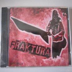 Discos de pizarra: CD - PUNK - FRAKTURA (DISTURBIOS) - FRANCIA - PRECINTADO. Lote 56843687