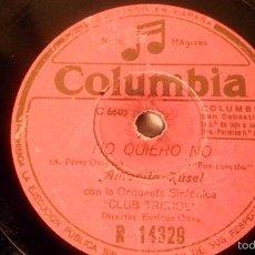 Discos de pizarra: ANTIGUO DISCO DE GRAMOFONO PIZARRA ORIGINAL DE LOS AÑOS 30/40. Lote 57069986