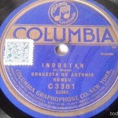 Discos de pizarra: ANTIGUO DISCO DE GRAMOFONO PIZARRA ORIGINAL DE LOS AÑOS 30/40. Lote 57070253