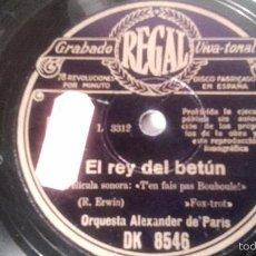 Discos de pizarra: ANTIGUO DISCO DE GRAMOFONO PIZARRA ORIGINAL DE LOS AÑOS 30/40. Lote 57070419
