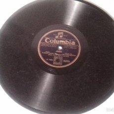 Discos de pizarra: ANTIGUO DISCO DE GRAMOFONO PIZARRA ORIGINAL DE LOS AÑOS 30/40. Lote 57070543