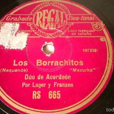 Discos de pizarra: ANTIGUO DISCO DE GRAMOFONO PIZARRA ORIGINAL DE LOS AÑOS 30/40. Lote 57194175