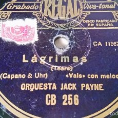 Discos de pizarra: ANTIGUO DISCO DE GRAMOFONO PIZARRA ORIGINAL DE LOS AÑOS 30/40. Lote 57194301