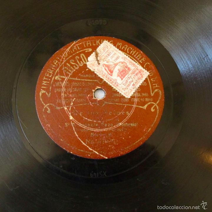 Discos de pizarra: DISco pizarra flamenco antiguo antonio pozo el mochuelo la rubia GUAJIRAS, DE LOS PEINES odeon - Foto 2 - 57216252