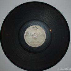 Discos de pizarra: DISCO PIZARRA ODEON. LEONOR / SI YO TOCARA BIEN LA CONCERTINA. TRIO VOCAL HERMANS RUSELL.. Lote 57273439