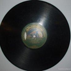 Discos de pizarra: DISCO PIZARRA GRAMOFONO. PERICON DE PLATA / INDIAN. ORQUESTA TZIGNES PLANAS BARCELONA. Lote 57273483
