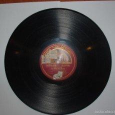 Discos de pizarra: DISCO PIZARRA GRAMOFONO. LA VILLANA. EL PENDÓN Y ARIA DE LAS JOYAS, POR EMILIO SAGI-BARBA. Lote 57275455