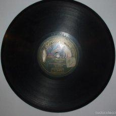 Discos de pizarra: DISCO PIZARRA GRAMOFONO.HINDUSTAN Y INDIANOLA PR LA ORQUESTRINA TZIGAN AMERICA.FOX-TROT. Lote 170200905
