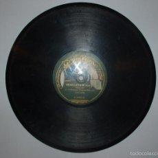 Discos de pizarra: DISCO PIZARRA GRAMOFONO.REVELATION Y HONG-KONG POR LA ORQUESTA TZIGANES EXCELSIOR. FOX-TROT. Lote 170201001