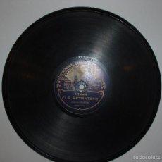 Discos de pizarra: DISCO PIZARRA ODEON. LA FONDA Y ELS RETRATETS. VENTRILEC MARTIN. BARCELONA. Lote 57275625