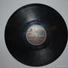 Discos de pizarra: DISCO PIZARRA ODEON. TADEO Y EN EL ASCENSOR. RAQUEL MELLER CON ORQUESTA DE BARCELONA.. Lote 57275669