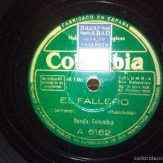 Discos de pizarra: EL FALLERO - KIK OFF. Lote 57328523