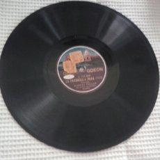 Discos de pizarra: LOTE 2 DISCOS RAQUEL MELLER. Lote 57414878