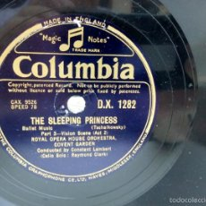 Discos de pizarra: THE SLEEPING PRINCESS MADE IN ENGLAND. Lote 57401490