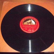 Discos de pizarra: SERGEI RACHMANINOFF, SONG WITHOUT WORDS, OP 67 Nº 4. PRELUDE IN C SHARP MINOR.. Lote 57608035