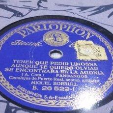 Discos de pizarra: DISCO DE PIZARRA CANALEJAS DE PUERTO REAL. Lote 57791520
