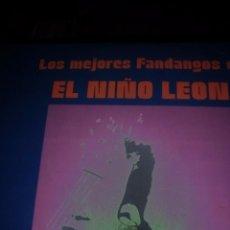 Discos de pizarra: DISCO CO 10 MAGISTRALES FANDANGOS DEL NIÑO LEON ANTONIO ARENAS . Lote 57941520