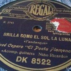 Discos de pizarra: CEPERO DE TRIANA DISCO DE PIZARRA. Lote 58096901