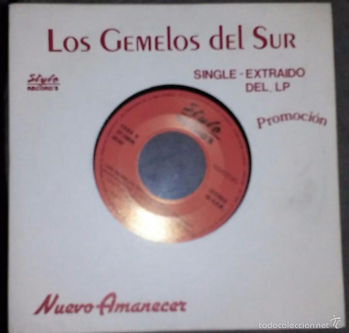 KIS GEMELOS DEL SUR (NUEVO AMANECER) PROMO (Música - Discos - Pizarra - Flamenco, Canción española y Cuplé)