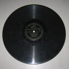 Discos de pizarra: DISCO DE GRAMOFONO. RCA VICTOR. CONCIERTO DE VARSOVIA. CAMPOS EL PIANISTA. 23 - 0595 - A. Lote 58253132