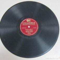 Discos de pizarra: DISCO DE GRAMOFONO. COLUMBIA. PELEA DE GALLOS, TRIO LOS PANCHOS. 6203 - X.. Lote 58253145