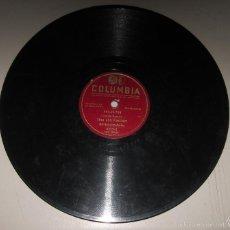Discos de pizarra: DISCO DE GRAMOFONO. COLUMBIA. PRO - CO - TON, TRIO LOS PANCHOS. 6209 - X.. Lote 58253158