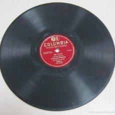 Discos de pizarra: DISCO DE GRAMOFONO. COLUMBIA. POR ELLAS, TRIO LOS PANCHOS. 6206 - X.. Lote 58253173
