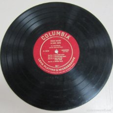 Discos de pizarra: DISCO DE GRAMOFONO. COLUMBIA. STRAUSS WALTZES IN DANCE TEMPO. LP 575. Lote 58253198