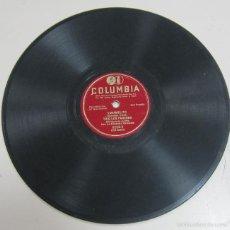 Discos de pizarra: DISCO DE GRAMOFONO. COLUMBIA. CARMELITO, TRIO LOS PANCHOS. 6223 - X. Lote 58253239