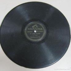 Discos de pizarra: DISCO DE GRAMOFONO. RCA VICTOR. ST. LOUIS BLUES, BEAUTIFUL EYES. 20 - 3369 - B. Lote 80667803